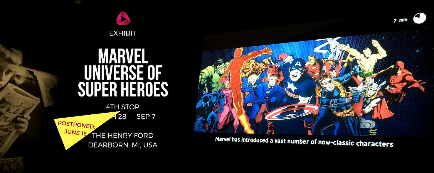 Marvel Universe of Super Heroes Dearborn The Henry Ford Museum USA BritzkaFilm